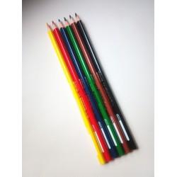 Kores TRIANGULAR háromszögletű színes ceruza 6db Balkezes ceruzák Tollak és ceruzák Kores