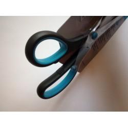Westcott Easy Grip olló 20cm, balkezes, fekete-kék