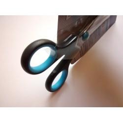 Westcott Easy Grip olló 14cm, balkezes, fekete-kék