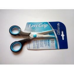 Westcott Easy Grip olló 14cm, balkezes, fekete-kék Általános ollók Ollók Westcott