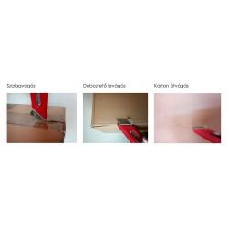PHC S3 trapéz pengés biztonsági kés, 18 mm, balkezes