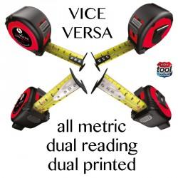 Vice Versa bal/jobb mérőszalag 8m Mérőszalagok Mérőszalagok