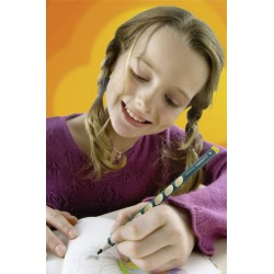 Stabilo EASYgraph grafit ceruza HB, 2db, balkezes, csomagolt