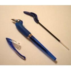 Yoropen golyóstoll 0.7mm + utántöltő, kék Azonnal száradó tollak Tollak és ceruzák Yoropen