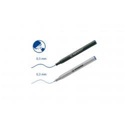 Stabilo EASYoriginal rollertoll betét 0.5mm, 3db Azonnal száradó tollak Tollak és ceruzák Stabilo