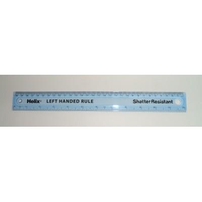 Maped HELIX áttetsző kék vonalzó 30cm, balkezes