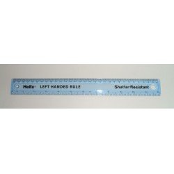 Maped HELIX áttetsző kék vonalzó 30cm, balkezes Vonalzók Vonalzók Maped