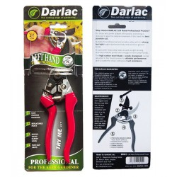 DARLAC Professional metszőolló max. 20mm átvágás, balkezes + ajándék