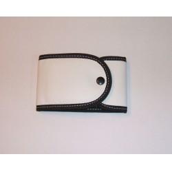 Manikűr készlet 4db-os, fekete-fehér tokban, balkezes, Premax 5000Ft felett Ollók Premax