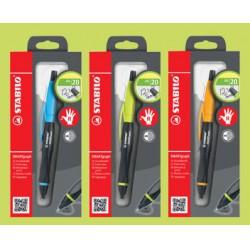 Stabilo SMARTgraph töltőceruza 0,7mm HB, jobbkezes + 1db csere radír 1-2 Jobbkezes termék Tollak és ceruzák Stabilo