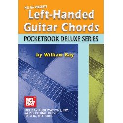 Left-Handed Guitar Chords Pocketbook (William Bay) Könyvek Könyv William Bay