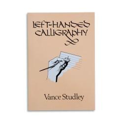 Left-Handed Calligraphy (Vance Studley) Útmutatók Könyv Vance Studley