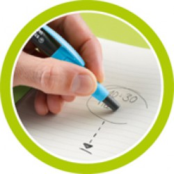 Stabilo SMARTgraph cserélhető radír, fekete Balkezes ceruzák Stabilo