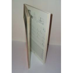 Jobb- és balkezes betű és szám gyakorlófüzet első osztályosok részére